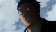 Takaoka's Wicked face Anime