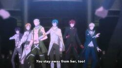 Dance with Devils ep11 - Crazy about You song