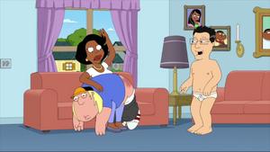 Donna Spanks Chris on the Ass