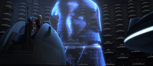 Palpatine holoprojector