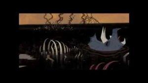 Samurai Jack S3Ep11-Mindless evil devestates the world Aku killed the dinosaurs