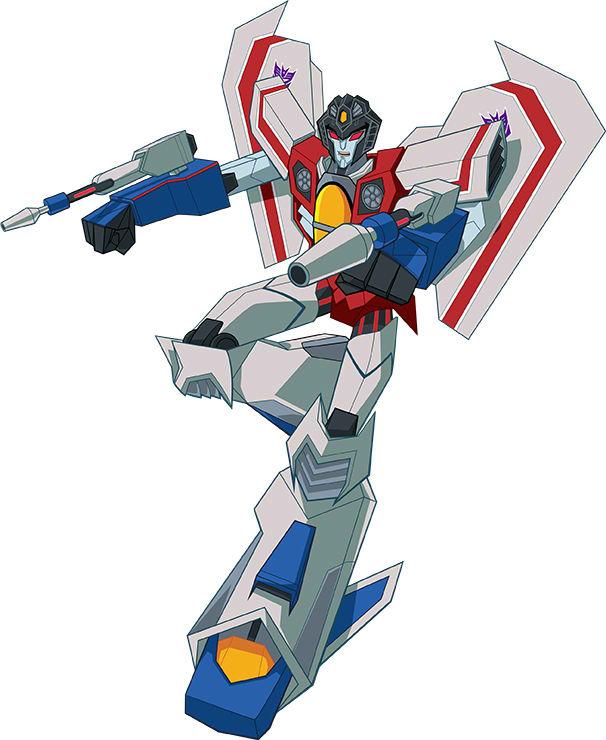 Starscream  Transformers  Cyberverse