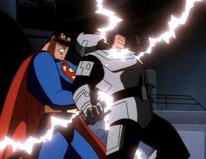 Superman vs. Sgt. Corey Mills