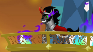 King Sombra in The Crystal Empire S3E01