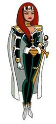 Maxima from Superman TAS