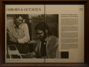 Norman Osborn and Otto Octavius from MSM screen