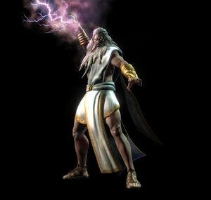 Zeus generating Lightning