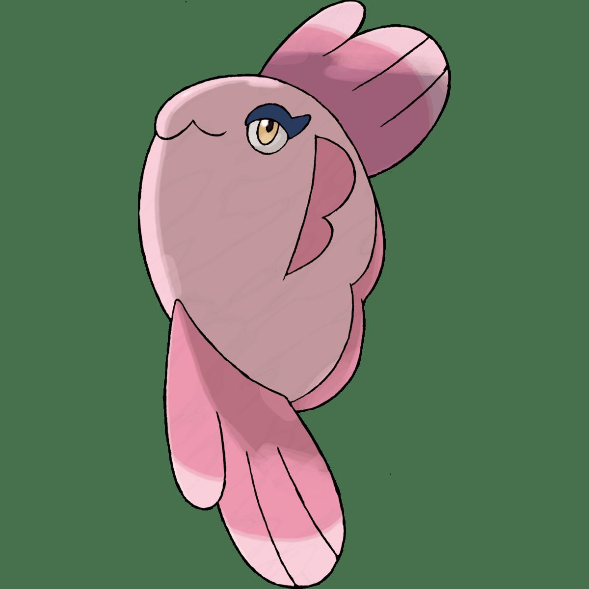 File:594Alomomola BW anime.png