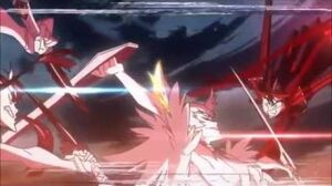 Kill la Kill Ryuko & Satsuki vs Ragyo (English Dub)