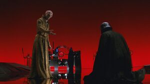 Snoke and Ren TLJ