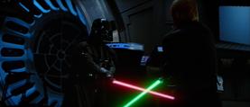 Vader Death Star duel