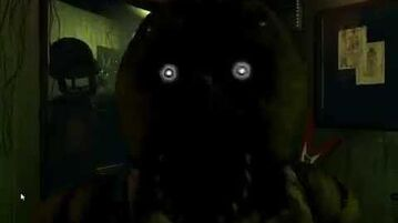 -Five Nights at Freddy's 3- Phantom Chica's Jump Scare