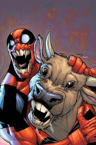 Deadpool and Cow