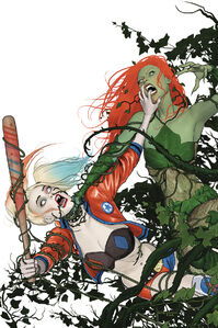 Harley Quinn and Poison Ivy Vol 1 6 Textless