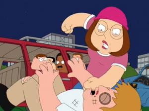 Meg Beats Someone Up