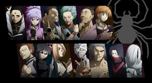 Members of Phantom Troupe