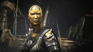 Mortal Kombat X Dvorah Intro Cove 02