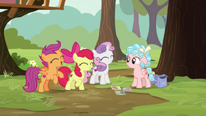 Scootaloo 'get ready for a friendship A-plus!' S8E12