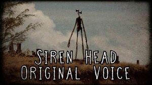 Siren Head Original Voice