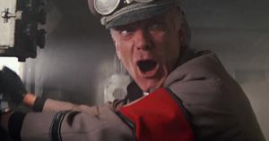 Standartenführer shrieks in orgasmic rage