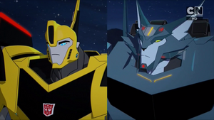 Bumblebee and Steeljaw (Combiner Force Ep. 24)