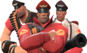 Captainheavysoldierandmedic