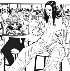Chap 89 - Machi and Nobunaga in disguise
