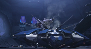 Dreadwing's Death