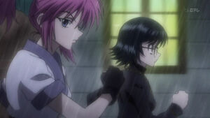 Machi & Shizuku get ready to fight
