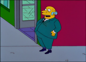Mr. Burns Fat