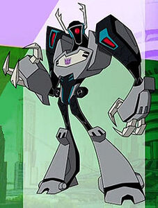 Shockwave Transformers Animated