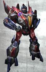 Starscream war for cybertron