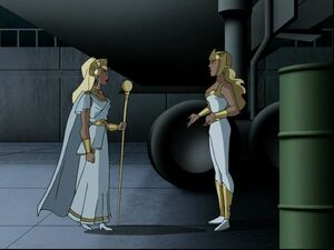Aresia and Hippolyta