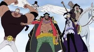 Blackbeard Arrives at Impel Down English Dubbed