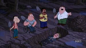 Burying Albert