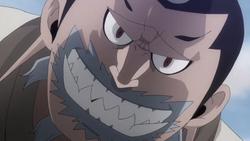 Doriate's evil grin