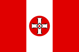 Flag of the ku klux klan by dutchatlantic13-dansibh