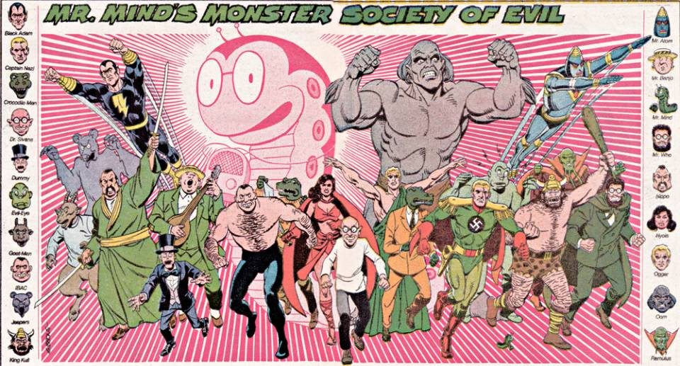 「The Monster Society of Evil」的圖片搜尋結果