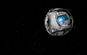 Wheatley in space