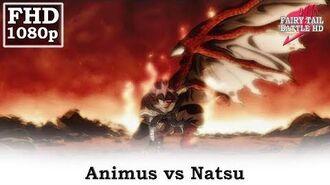 Animus vs Natsu, Natsu exerts his E.N.D. power, Fairy Tail
