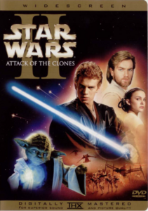 Attack Of The Clones DVD