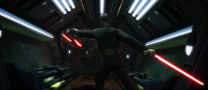 Count Dooku toss