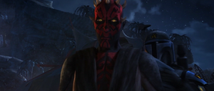 Darth Maul escort