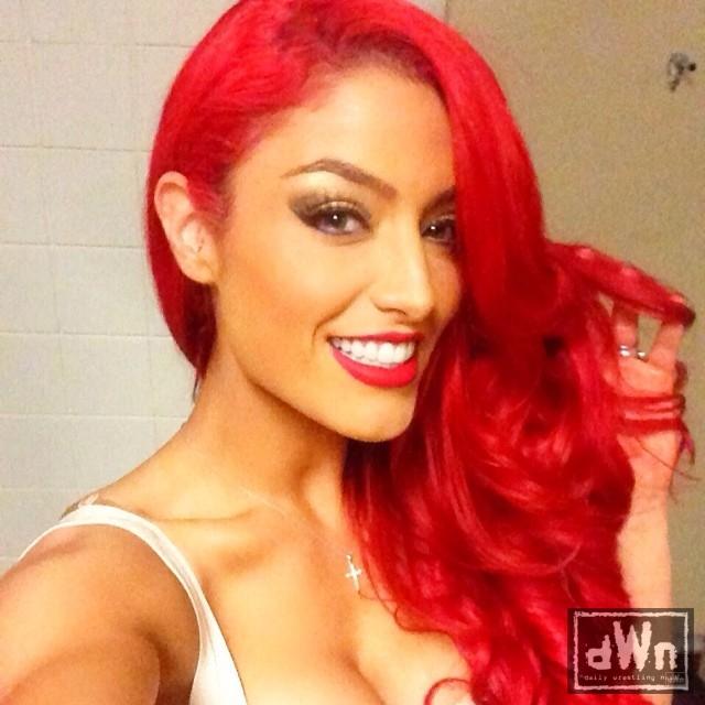 Tyra Banks Wwe: Wwe Eva Marie Red Hair 38449