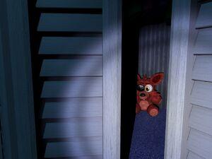 Nightmare Foxy Plushy