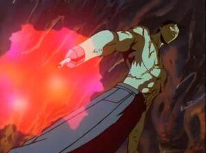 Sensui Shinobu energy gun