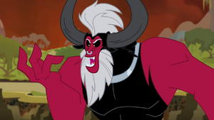 Tirek 'Their release for all the Alicorn magic in Equestria' S4E26