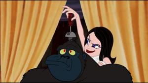 Velvet and gorilla
