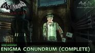Batman Arkham City - Enigma Conundrum (The Riddler) - Side Mission Walkthrough