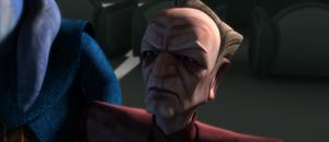 Chancellor Palpatine mad